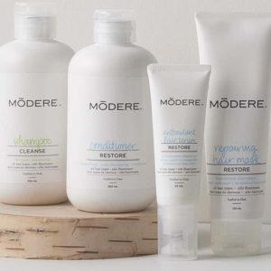 Modere Hair Care Collection - Ligne de soin pour tous types de cheveux